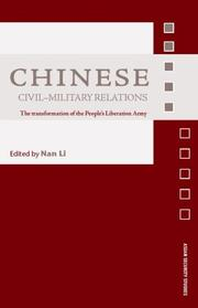 Cover of: Chinese Civil Military Relations