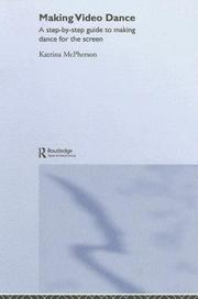 Cover of: Making Video Dance | K. Mcpherson