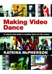 Cover of: Making Video Dance