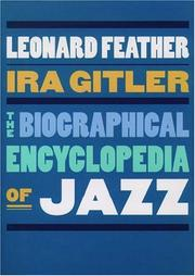 Cover of: The biographical encyclopedia of jazz