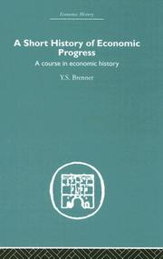 Cover of: A Short History of Economic Progress
