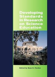 Cover of: Developing Standards in Research on Science Education, The ESERA Summer School 2004