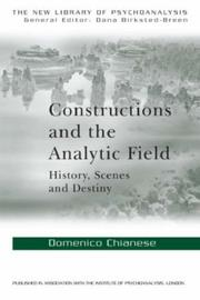 Cover of: Contstuctions and the analytic | Chian Domenico