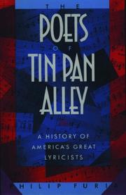 The poets of Tin Pan Alley by Philip Furia