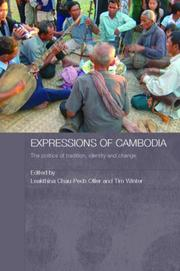 Cover of: Expressions of Cambodia | Ollier/Winter