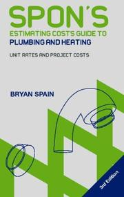Cover of: Spon's Estimating Cost Guide to Plumbing and Heating
