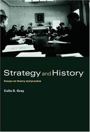 Cover of: Strategy and History | Colin Gray
