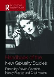 Cover of: Handbook New Sexuality Studies