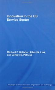 Cover of: Innovation U.S. Services Sector