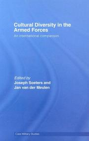 Cover of: Cultural Diversity in the Armed Forces |