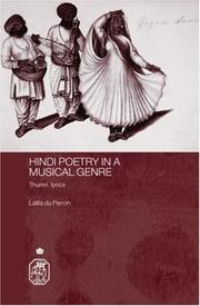 Cover of: Hindi Poetry In A Musical Gere