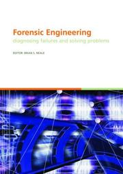 Cover of: Forensic Engineering - Diagnosing Failures and Solving Problems (Book + CD-ROM) (Balkema--Proceedings and Monographs in Engineering, Water and Earth Sciences)
