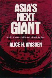 Cover of: Asia's next giant