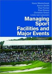 Cover of: Managing Sports Facilities and Major Events