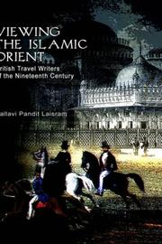 Cover of: The Islamic Orient British Travel 19th Century