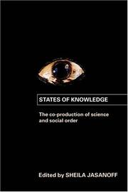 Cover of: States of Knowledge