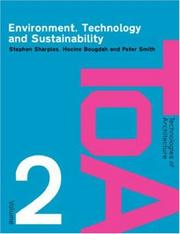 Cover of: Environment, Technology and Sustainability (Technologies of Architecture )