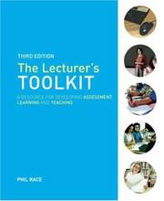 The Lecturers Toolkit by Phil Race