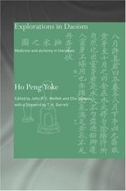 Cover of: Explorations in Daoism