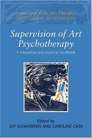 Cover of: Supervision in Art Psychotherapy (Supervision in the Arts Therapies)
