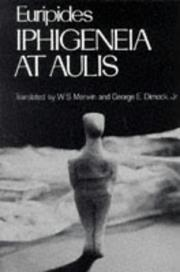 Cover of: Iphigeneia at Aulis (Greek Tragedy in New Translations) | Euripides