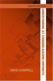 Cover of: Understanding JCT Standard Building Contrcts