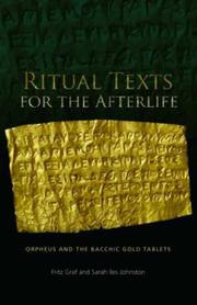 Cover of: Ritual Texts for the Afterlife