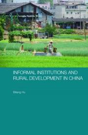 Cover of: Informal Institutions and Rural Development in China
