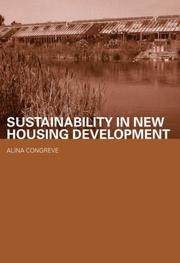 Cover of: Ecological Modernisation and Greenfield Housing (Housing, Planning and Design)
