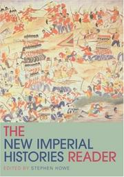Cover of: New Imperial Histories Reader