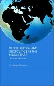 Cover of: Globalization and Geopolitics in the Middle East