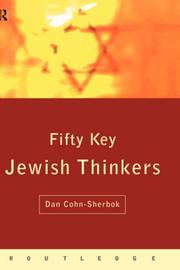 Cover of: Fifty Key Jewish Thinkers
