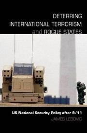Cover of: Deterring International Terrorism and Rogue States