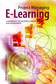 Cover of: Project Managing E-Learning