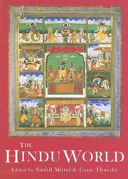 Cover of: The Hindu World | Mittal/Thursby