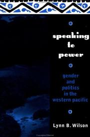 Cover of: Speaking to power
