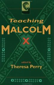 Cover of: Teaching Malcolm X