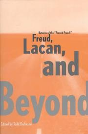"Cover of: Returns of the ""French Freud:"" Freud, Lacan, and Beyond"
