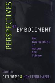 Cover of: Perspectives on Embodiment | Gail Weiss