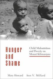 Cover of: Hunger and shame | Mary Theresa Howard