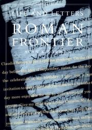 Life and Letters on the Roman Frontier by Alan K. Bowman