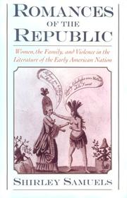 Cover of: Romances of the republic