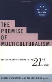 Cover of: The promise of multiculturalism |