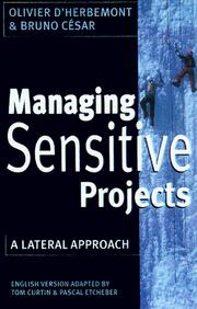 Cover of: Managing Sensitive Projects