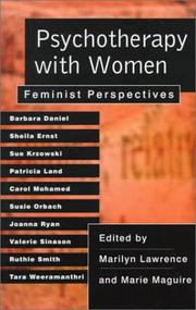 Cover of: Psychotherapy with Women