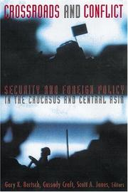 Cover of: Crossroads and Conflict | Gary Bertsch