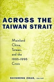 Cover of: Across the Taiwan Strait