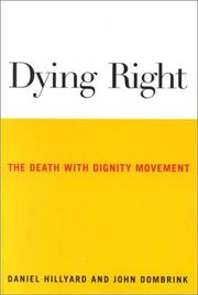 Cover of: Dying Right