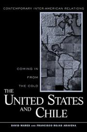 Cover of: United States and Chile | David R. Mares