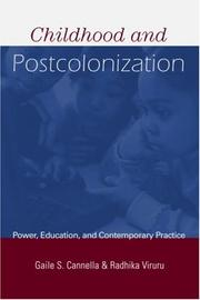 Cover of: Childhood and Postcolonization